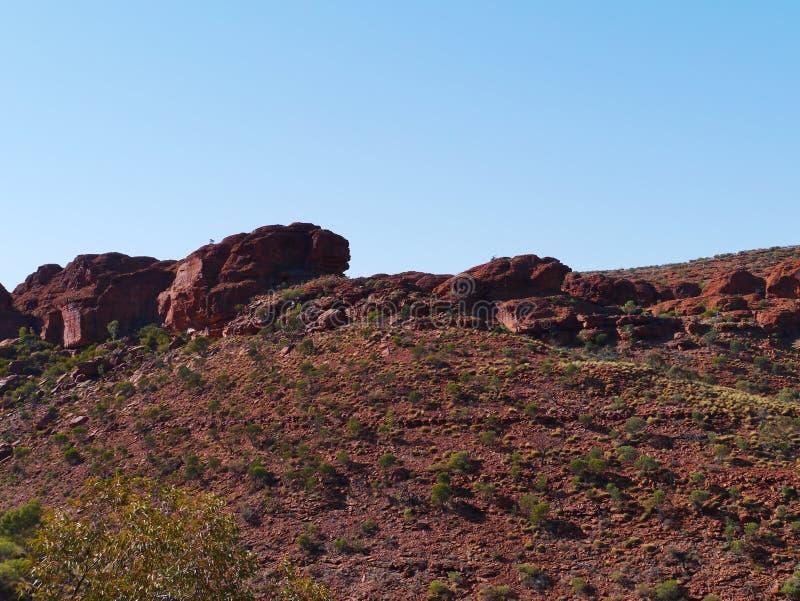 Parque nacional de Watarrka fotografia de stock