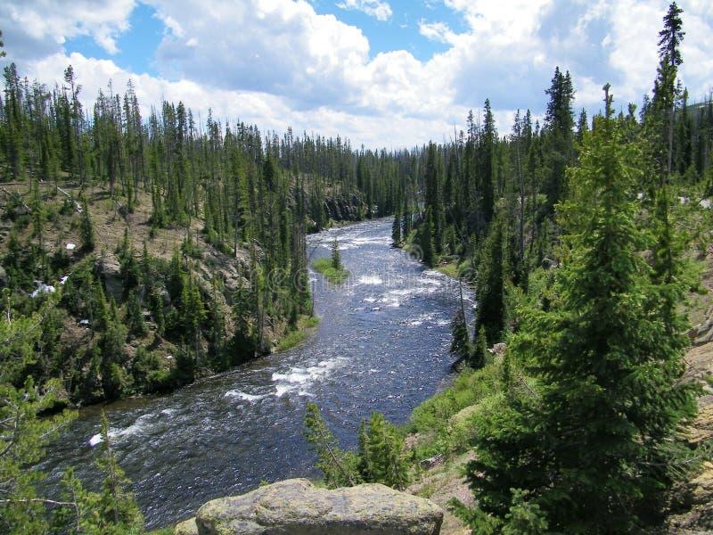 Parque nacional 4 de Yellowstone fotos de archivo libres de regalías