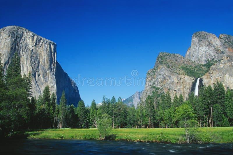 Parque nacional de Yosemite foto de archivo libre de regalías