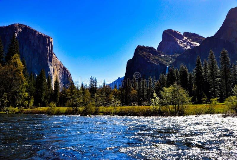 Parque nacional de Yosemite imagens de stock royalty free