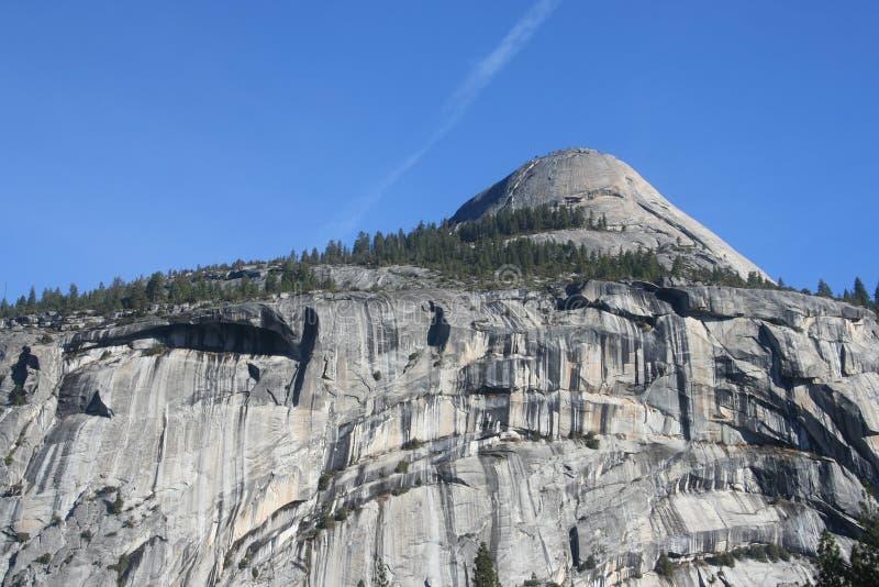 Parque nacional de Yosemite da abóbada norte fotografia de stock