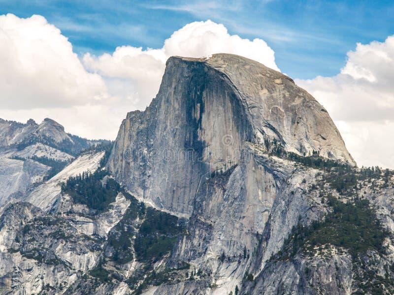 Parque nacional de Yosemite e meia abóbada, Califórnia, EUA fotos de stock royalty free