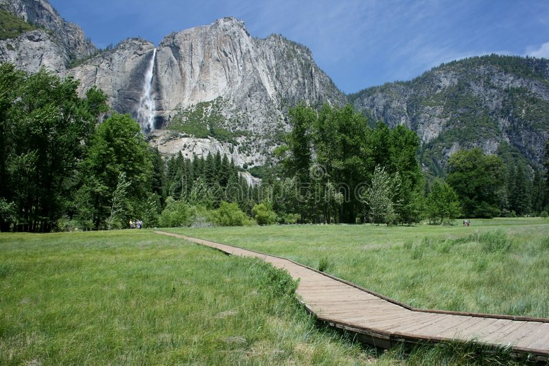 Parque nacional de Yosemite en California foto de archivo