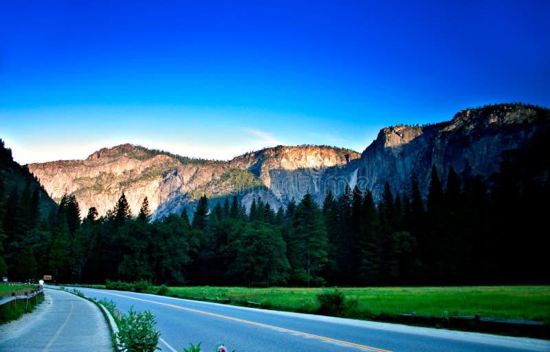 Parque nacional de Yosemite, EUA imagens de stock