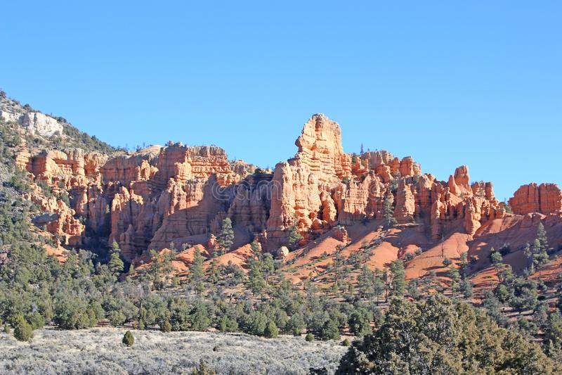 Parque nacional de Zion, Utá imagens de stock royalty free