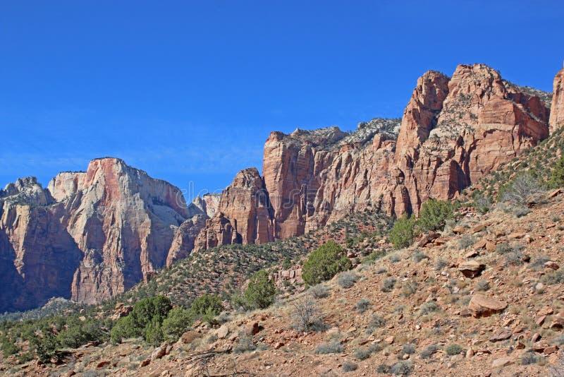 Parque nacional de Zion, Utá imagens de stock