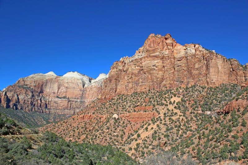 Parque nacional de Zion, Utá imagem de stock