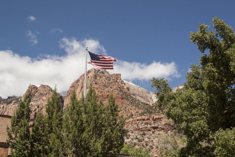 Parque nacional de Zion, Utá, EUA imagem de stock royalty free