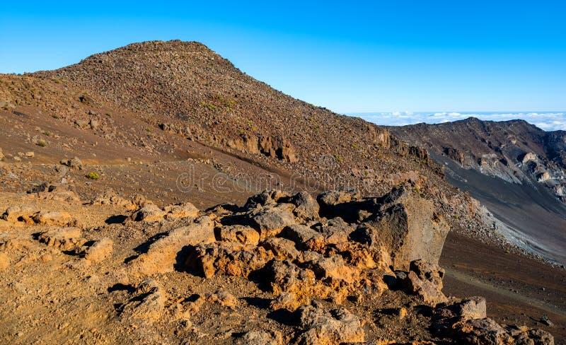 Parque nacional del  de HaleakalÄ, isla de Maui, Hawaii imagen de archivo