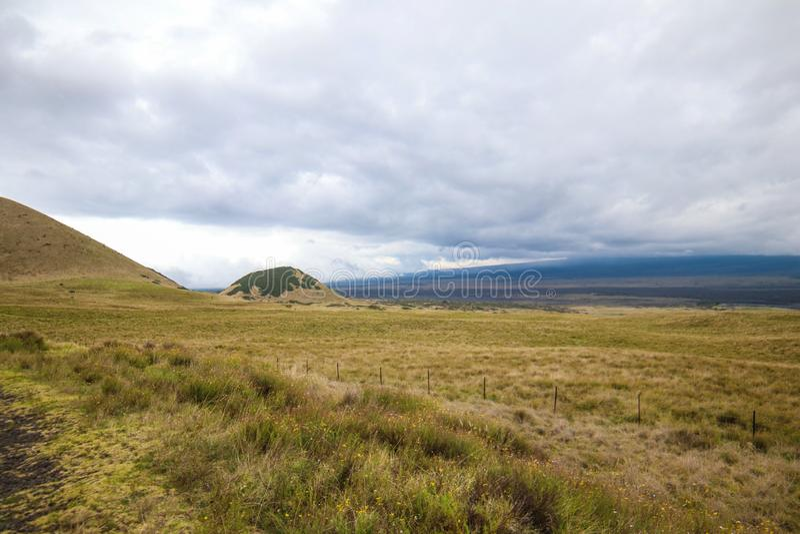 Parque nacional del  de HaleakalÄ - un ecosistema hermoso y diverso imágenes de archivo libres de regalías