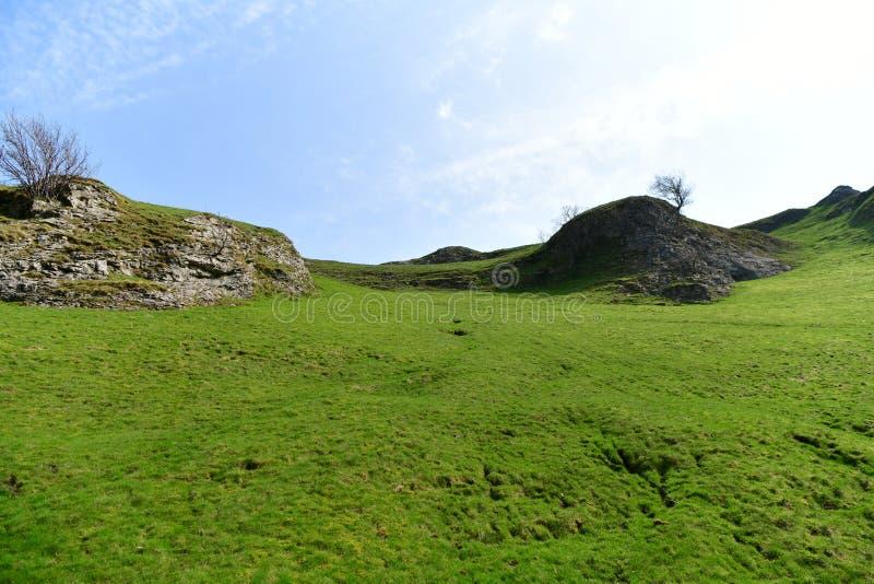 Parque nacional del distrito máximo en Reino Unido imágenes de archivo libres de regalías
