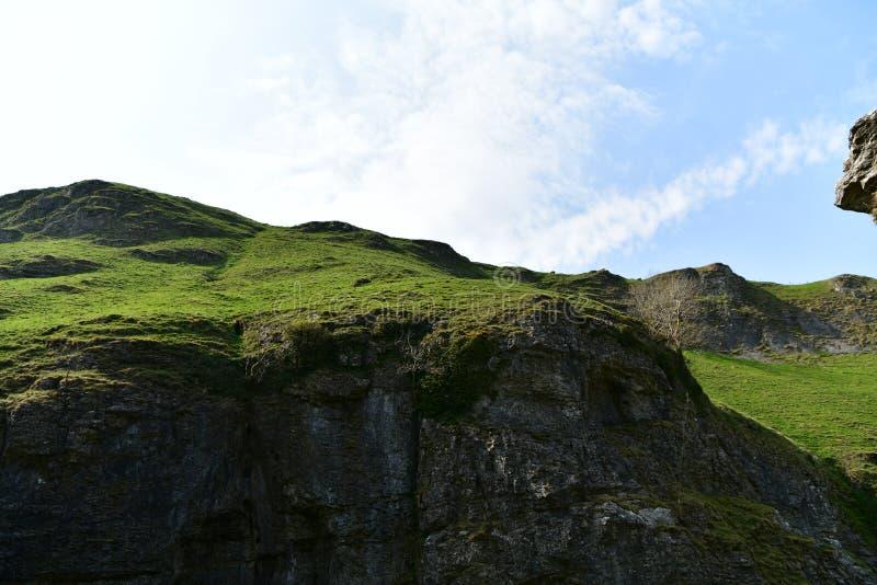 Parque nacional del distrito máximo en Reino Unido imagen de archivo