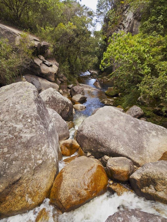 Parque nacional del DOS Orgaos de Serra, el Brasil foto de archivo libre de regalías