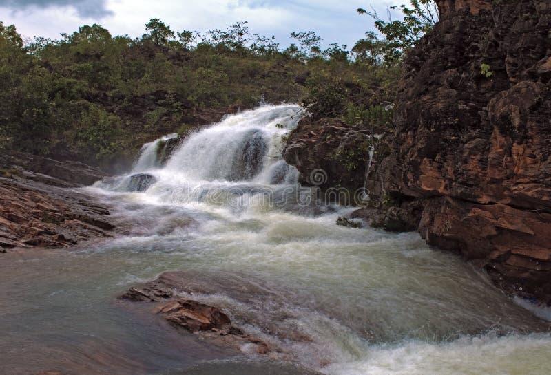Parque nacional del DOS Veadeiros de Chapada imagen de archivo
