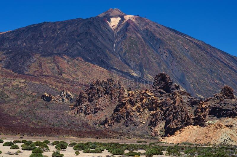 Parque nacional del EL Teide, Tenerife, islas Canarias, España fotografía de archivo
