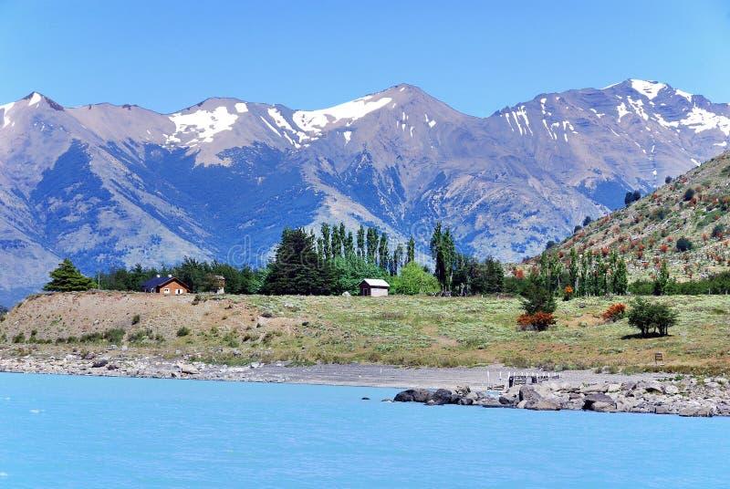 Parque nacional del Los Glaciares imagen de archivo