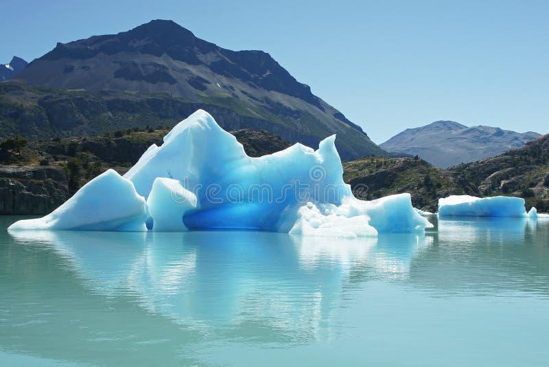 Parque nacional del Los Glaciares, la Argentina foto de archivo libre de regalías