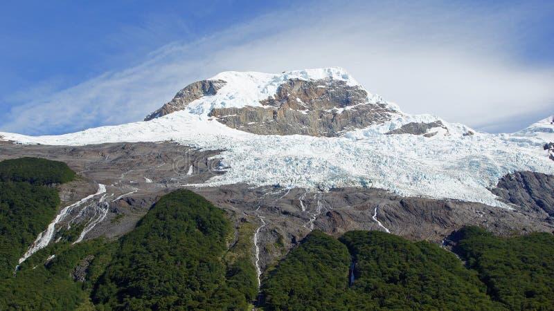 Parque nacional del Los Glaciares, la Argentina imagen de archivo