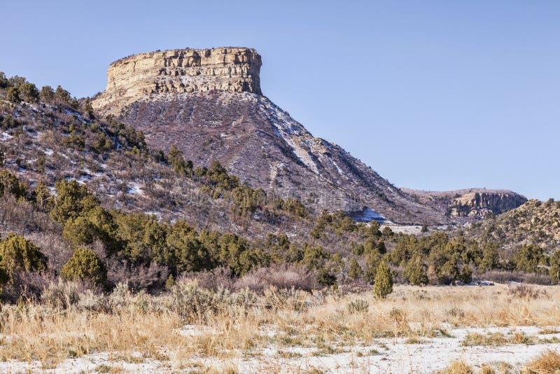 Parque nacional del Mesa Verde, Colorado fotografía de archivo