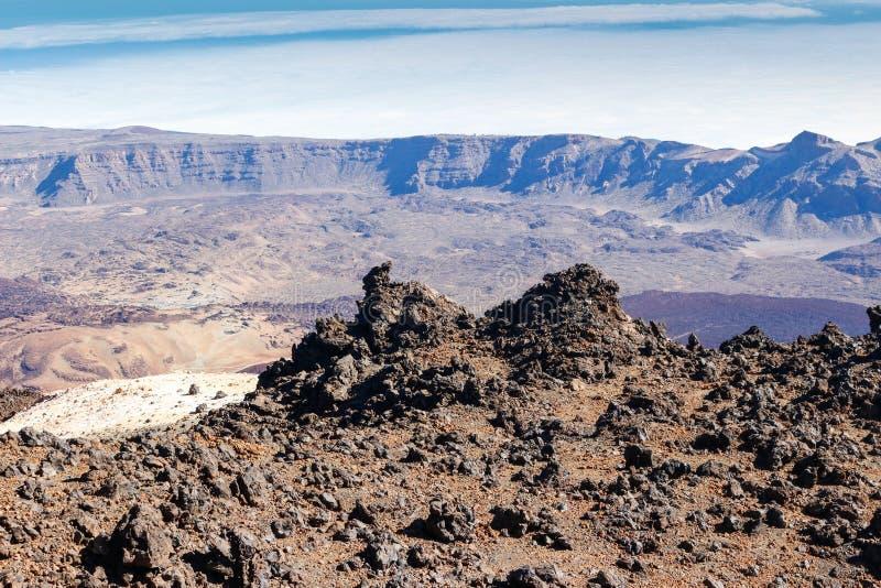 Parque Nacional Del Teide photographie stock libre de droits