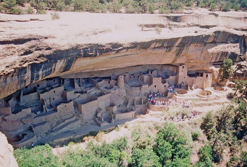 Parque nacional del verde del Mesa foto de archivo libre de regalías