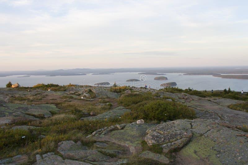 Parque nacional 75 do Acadia imagens de stock