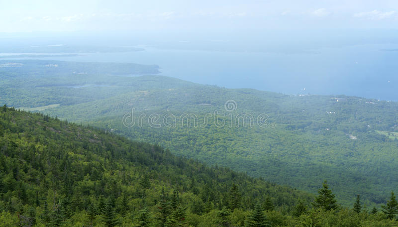 Parque nacional do Acadia foto de stock