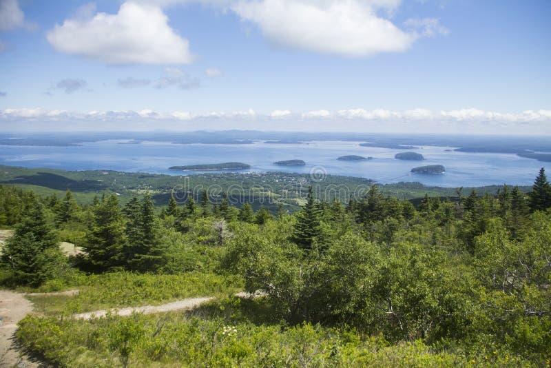 Parque nacional do Acadia, Maine imagens de stock