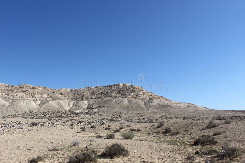 Parque nacional do avdat de Ein em Israel imagens de stock