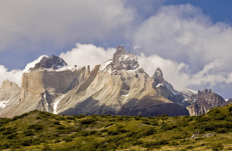 Parque nacional do delPaine de Torres, o Chile foto de stock royalty free