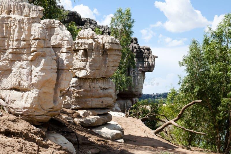 Parque nacional do desfiladeiro de Geikie - Kimberley - Austrália imagens de stock royalty free