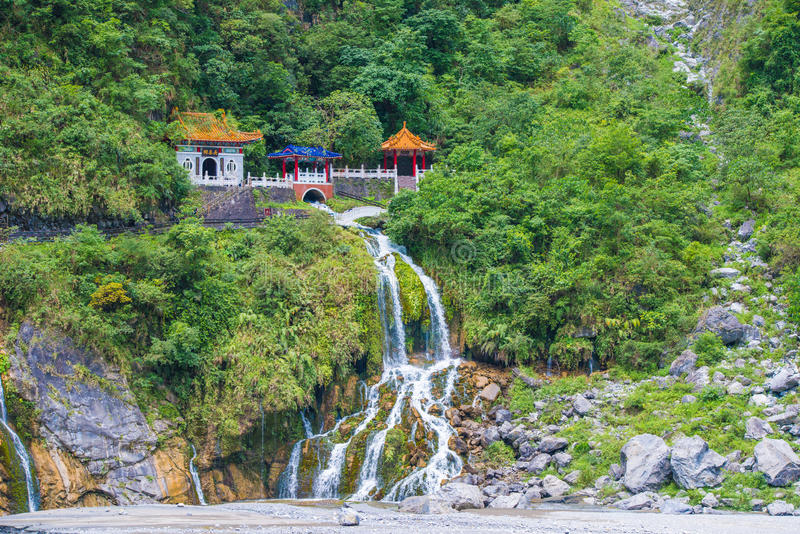 Parque nacional do desfiladeiro de Taroko fotos de stock