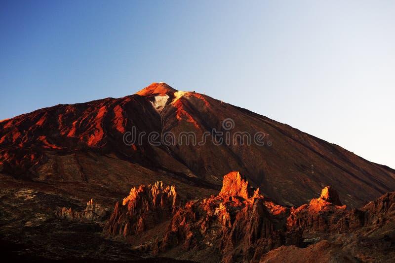 Parque nacional do EL Teide fotos de stock royalty free