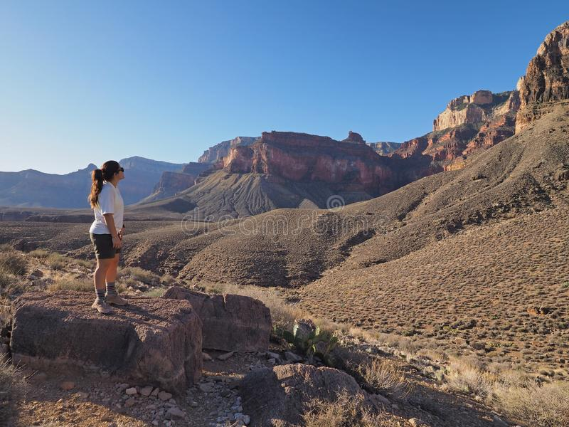 Parque nacional do Grand Canyon, o Arizona fotografia de stock