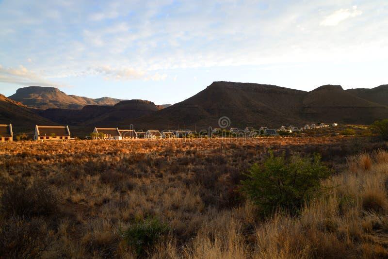 Parque nacional do Karoo, Beaufort ocidental imagens de stock royalty free
