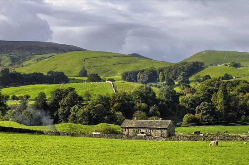 Parque nacional dos Dales de Yorkshire foto de stock