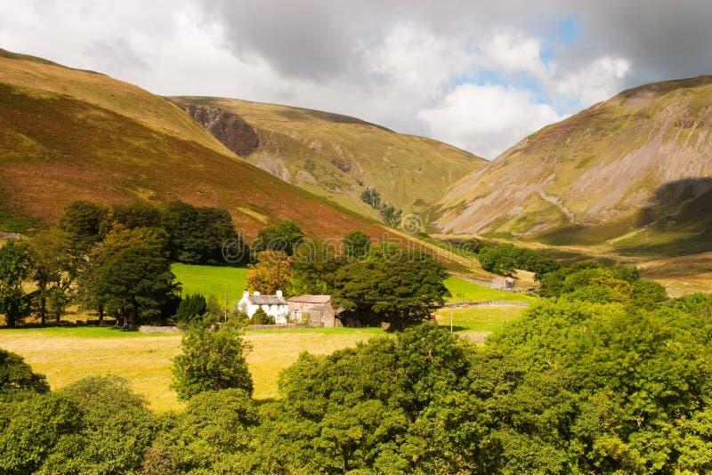Parque nacional dos Dales de Yorkshire fotografia de stock royalty free