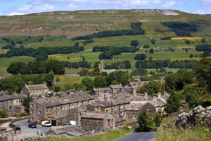 Parque nacional dos Dales de Yorkshire - Inglaterra foto de stock