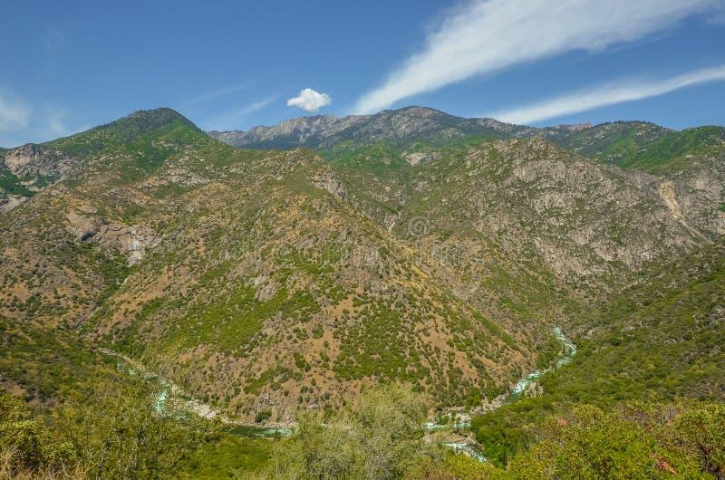 Parque nacional dos reis Garganta fotografia de stock