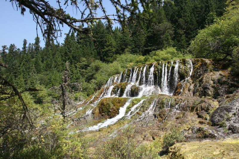 Download Cachoeira de Huanglong imagem de stock. Imagem de scenic - 29848327