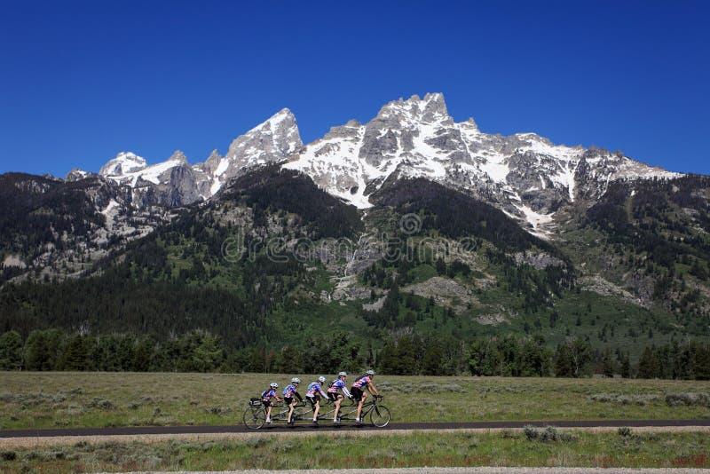 Parque nacional grande de Teton imagens de stock