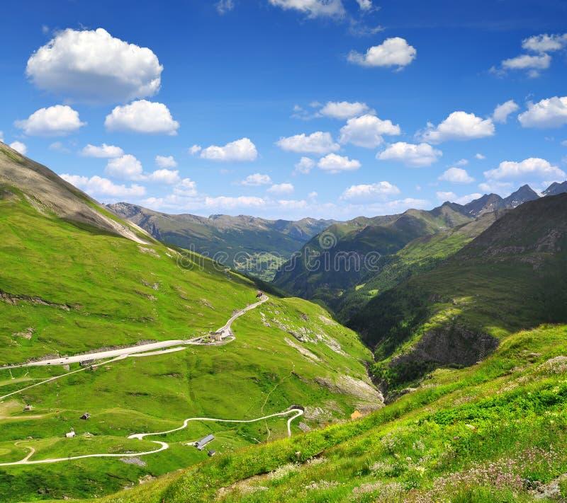 Parque nacional Hohe Tauern, Austria fotos de archivo libres de regalías