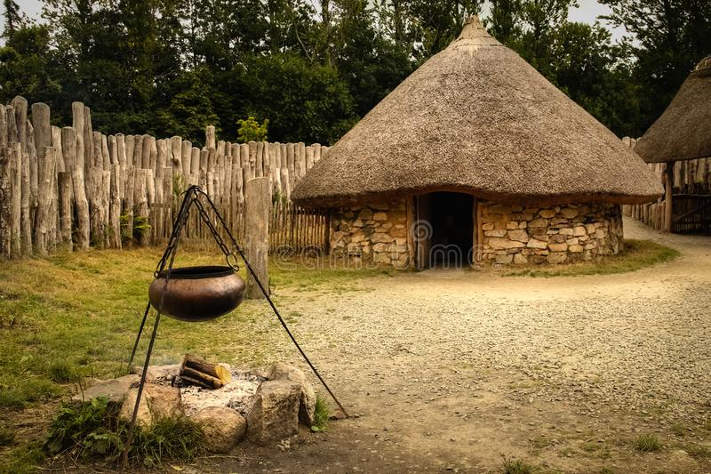 Parque nacional irlandês da herança Wexford ireland imagem de stock royalty free