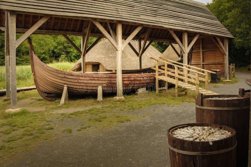 Parque nacional irlandês da herança Wexford ireland imagem de stock