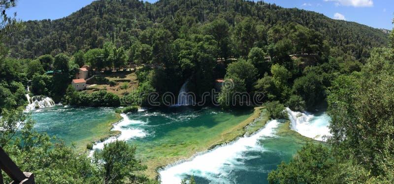 Parque nacional Krka imagen de archivo libre de regalías
