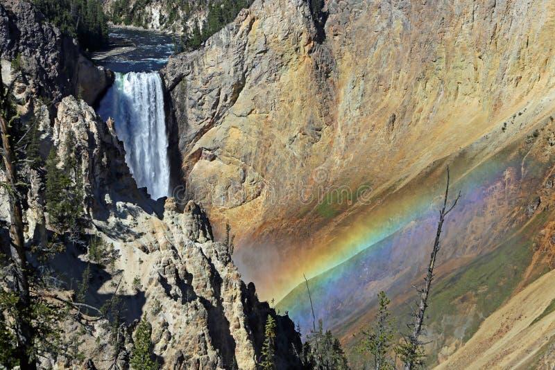 Parque nacional los E.E.U.U. de Yellowstone imagenes de archivo