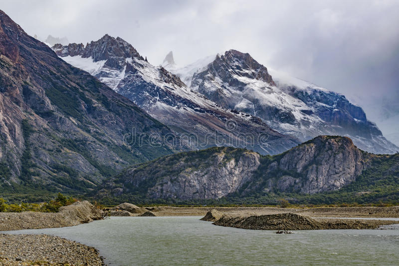 Parque Nacional los Glaciares - Patagonia - l'Argentina fotografia stock