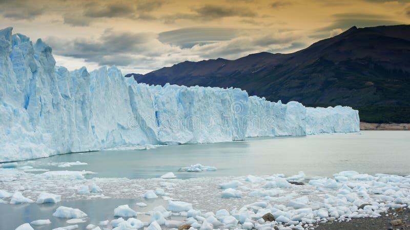 Parque nacional Los Glaciares, Patagonia, la Argentina fotografía de archivo libre de regalías