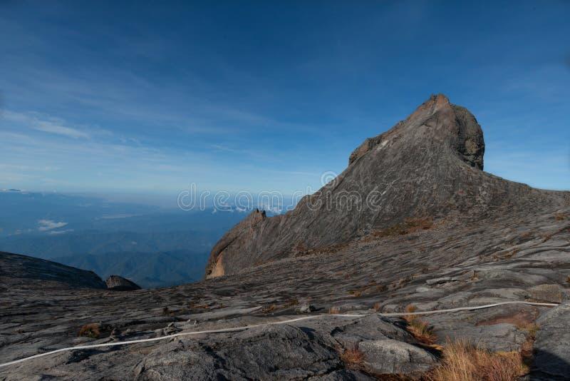 Parque nacional máximo de Kinabalu del soporte imagen de archivo libre de regalías