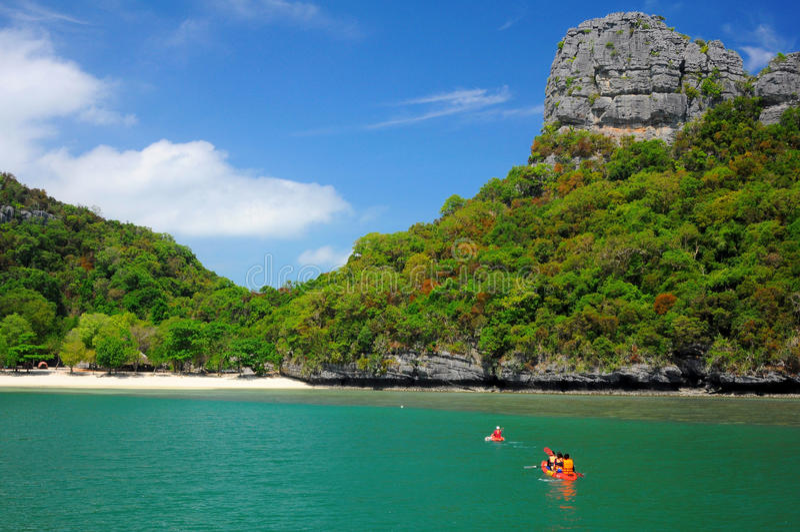 Parque nacional marinho da ilha de Angthong foto de stock royalty free